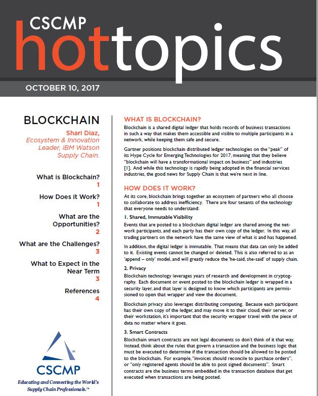 Blockchain: Opportunities, Challenges, and What's Next