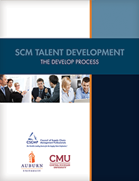 SCM Talent Development: The Develop Process