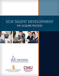 SCM Talent Development: The Acquire Process
