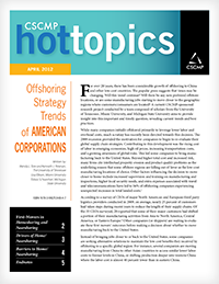 Offshoring Strategy Trends of American Corporations