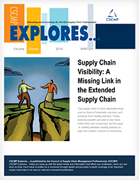 SC Visibility: A Missing Link in the Extended Supply Chain